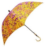 Carica l'immagine nel visualizzatore di Gallery, Beautifull Umbrella Features a Lilac & Gold Abstract Leopard Design - il-marchesato