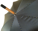 Load image into Gallery viewer, Double Cloth Men's Umbrella - Multicolored Striped Design - il-marchesato