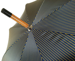 Double Cloth Men's Umbrella - Multicolored Striped Design - il-marchesato
