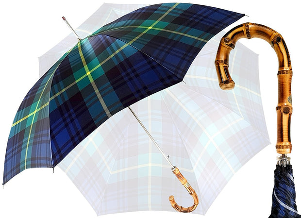 Gents Umbrella - Tartan Design - By il Marchesato - il-marchesato