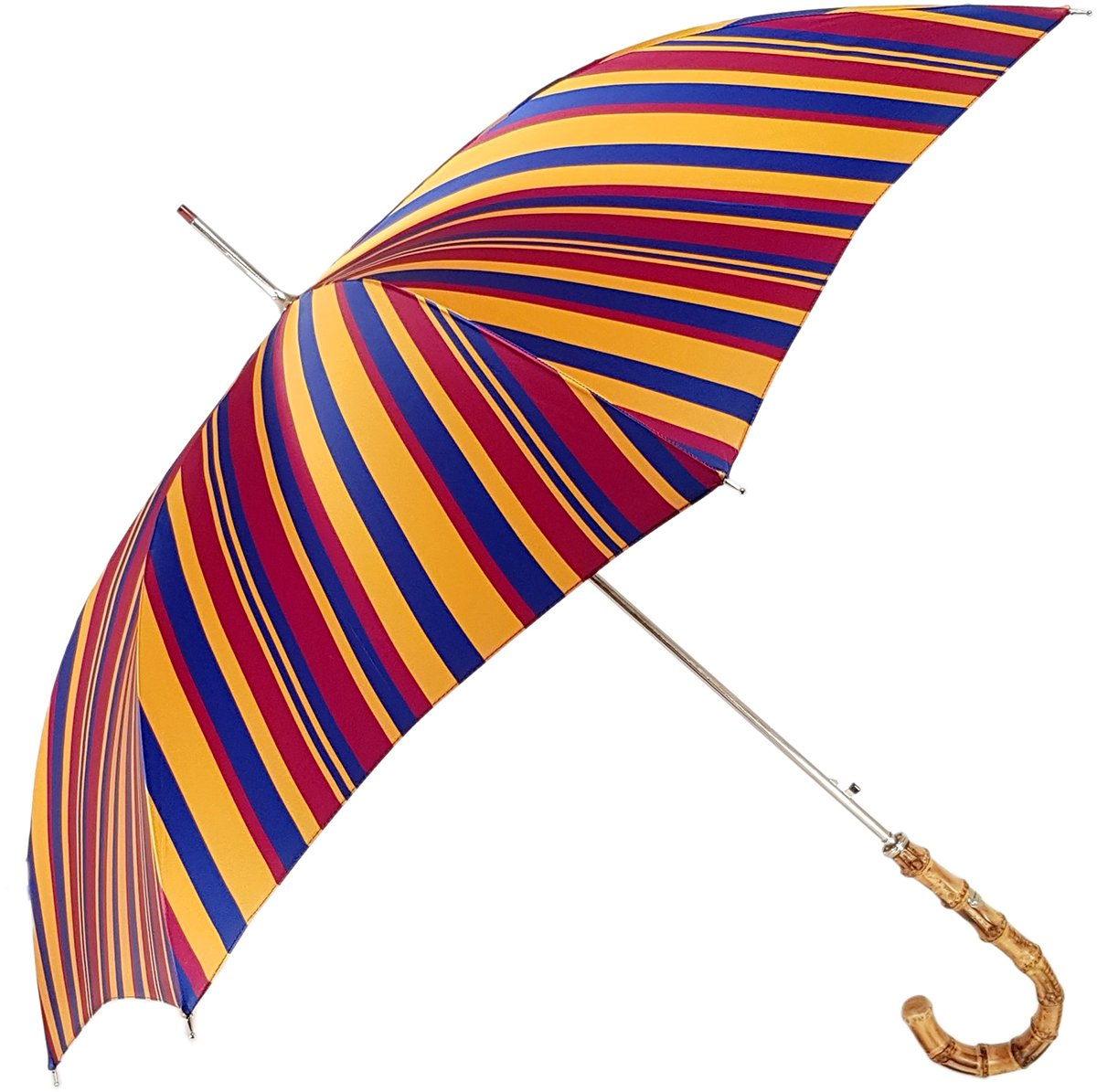 Gents Umbrella - Striped Design - By il Marchesato