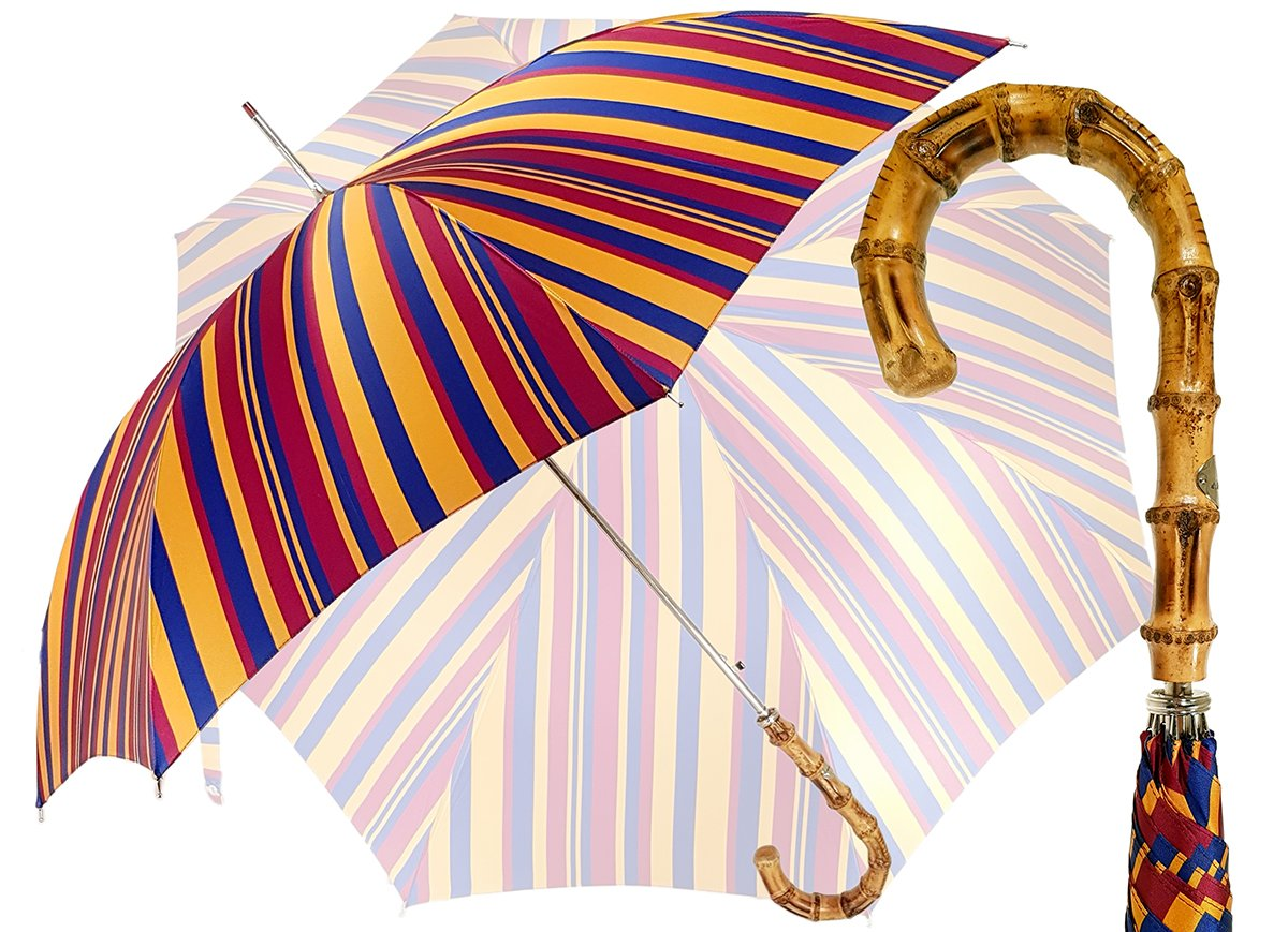 Gents Umbrella - Striped Design - By il Marchesato - il-marchesato