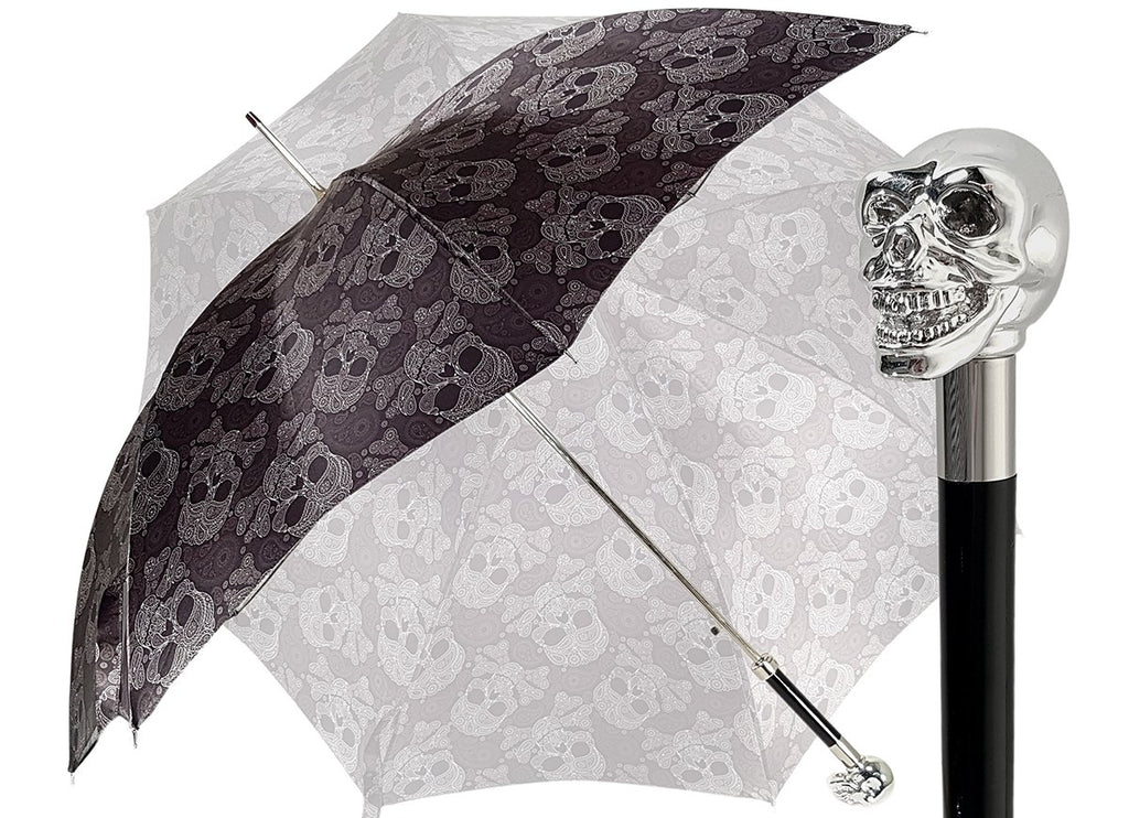 il Marchesato Skull Umbrella - il-marchesato