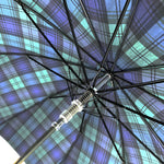 Load image into Gallery viewer, Men's sporty Tartan umbrella - IL MARCHESATO LUXURY UMBRELLAS, CANES AND SHOEHORNS
