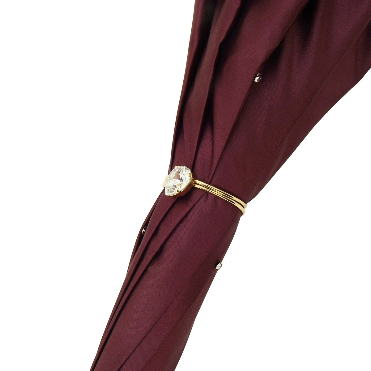 BURGUNDY COLOR DOUBLE CLOTH UMBRELLAS