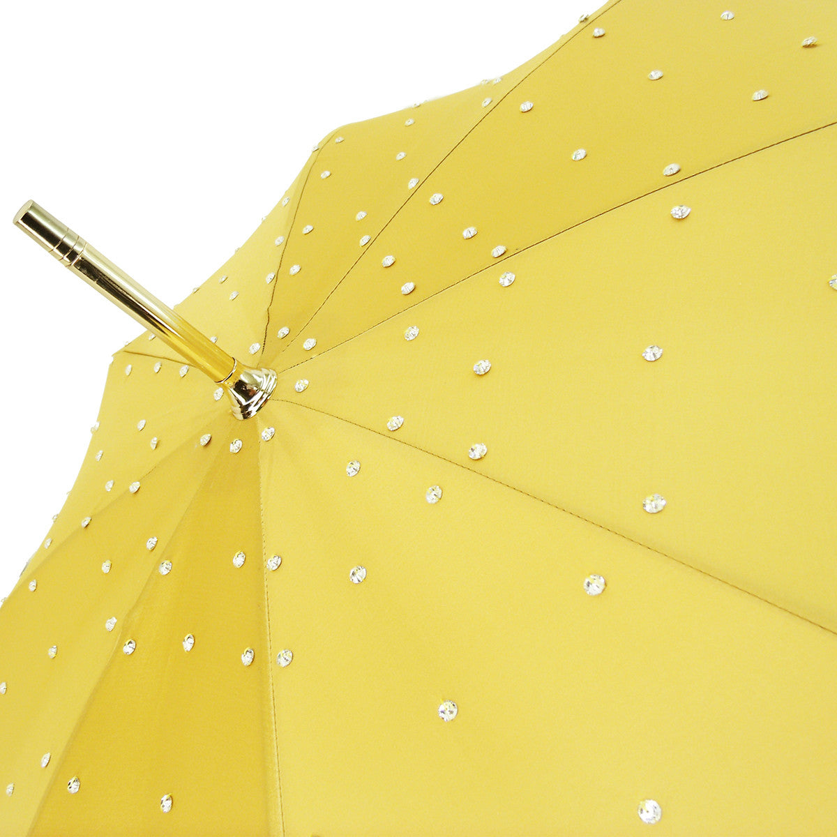 LUXURY DOUBLE CLOTH FASHION CRYSTALS UMBRELLAS
