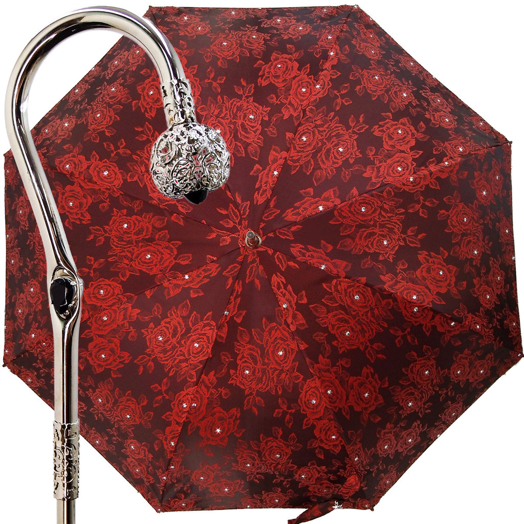 Red Roof Canopy Luxurious Umbrella. - il-marchesato