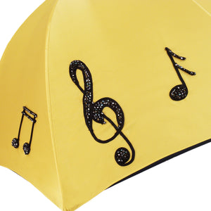 Stylish  Musical Notes Handmade Fashion Umbrella For Women - il-marchesato