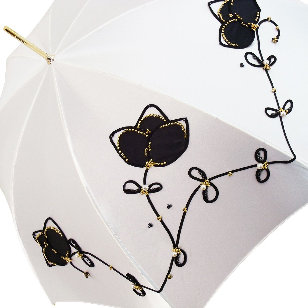 Elegant Women Embroidery Umbrella