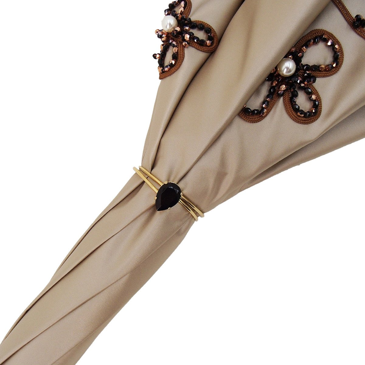 fashion luxury double cloth umbrella