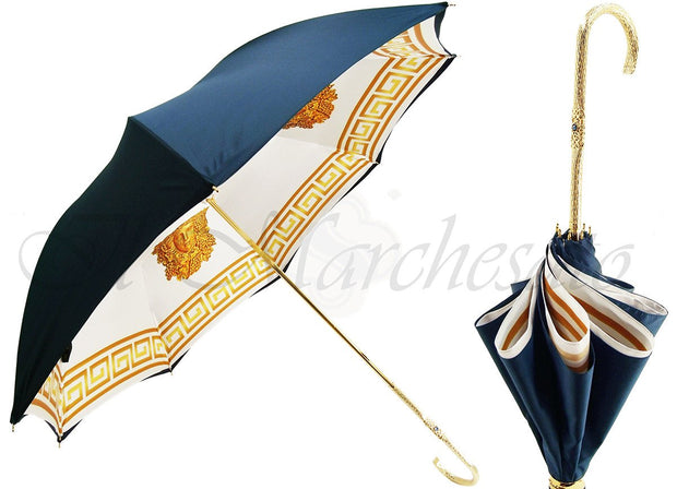 DOUBLE CLOTH UMBRELLA - HANDMADE IN ITALY