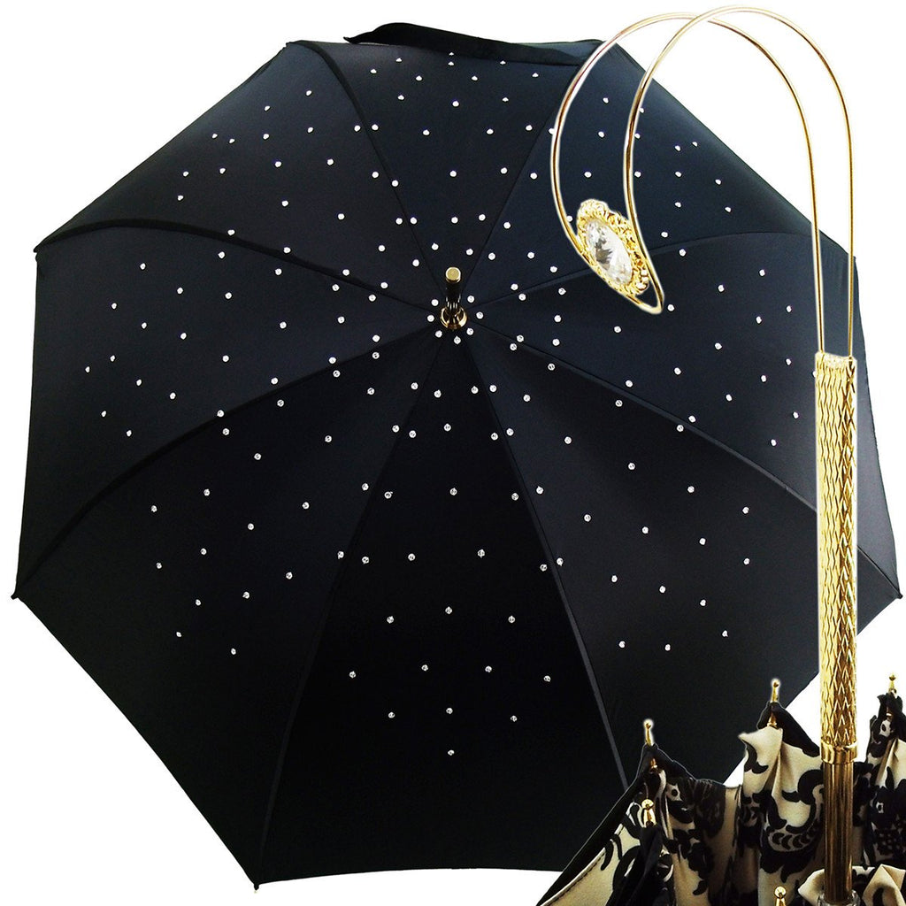 Jewel Umbrella Made with Swarovski Elements - il-marchesato