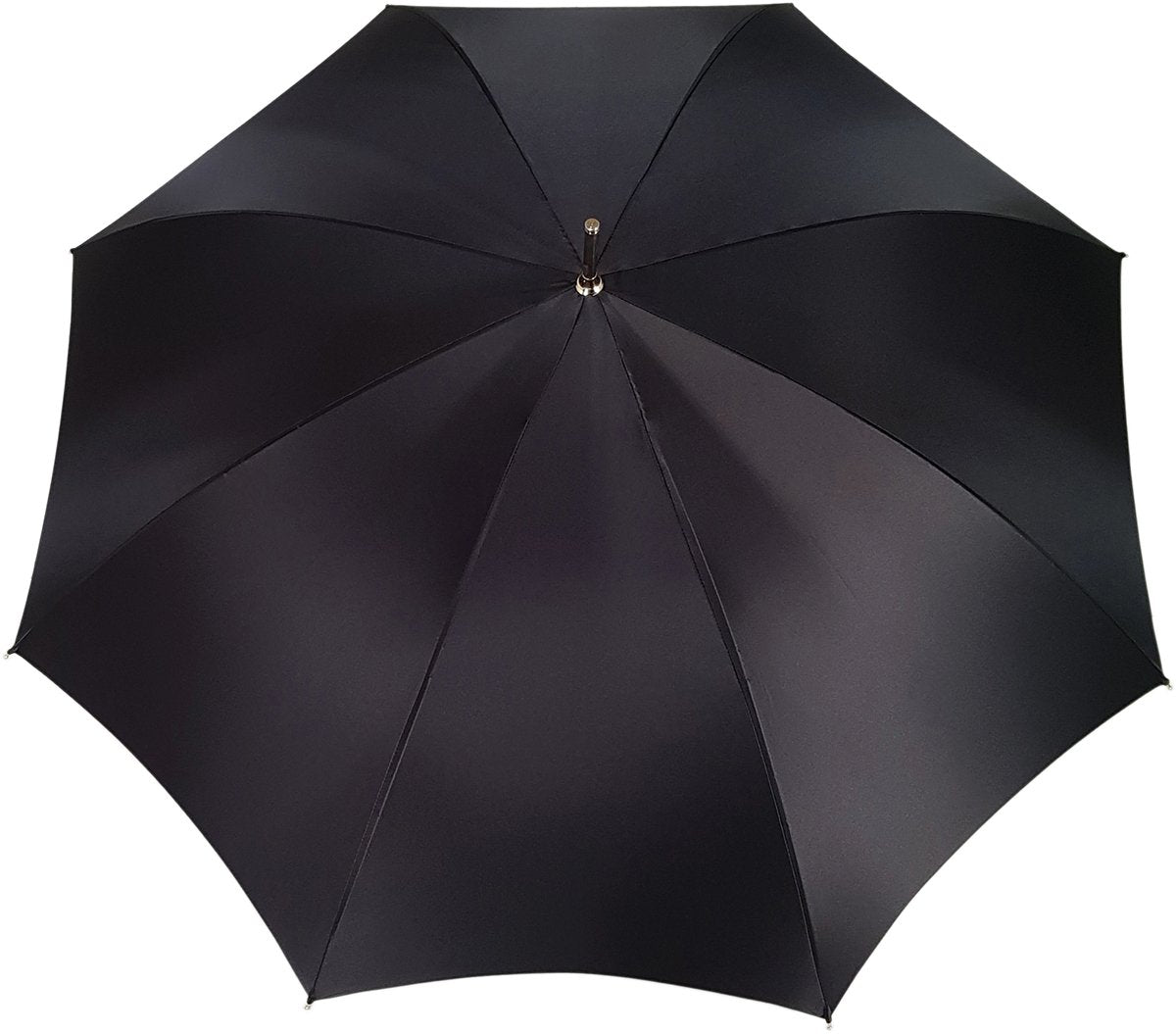 Black And White Pattern Plaid Double Cloth Umbrella