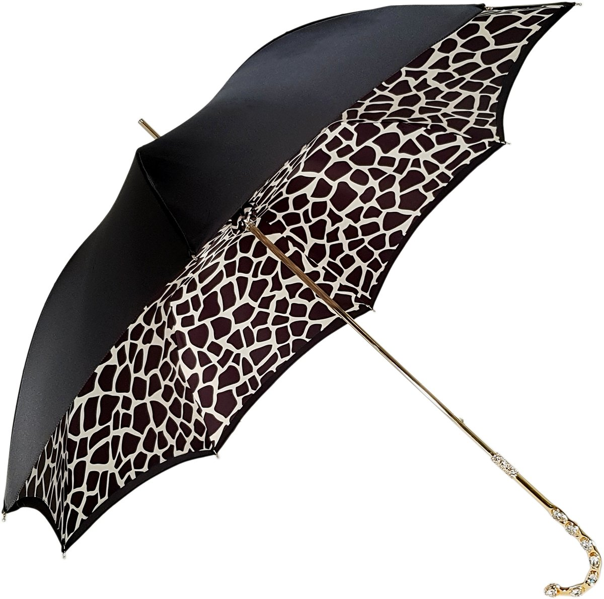 jeweled double layer umbrella