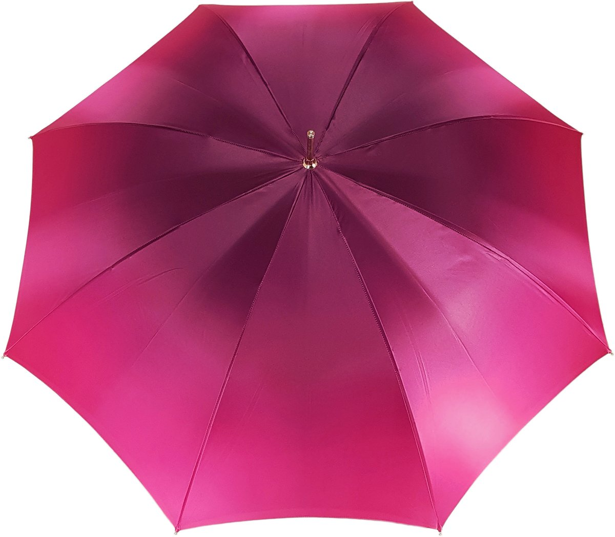 Lovely Fuchsia Shade Umbrella, New Flowered Exclusive By il Marchesato