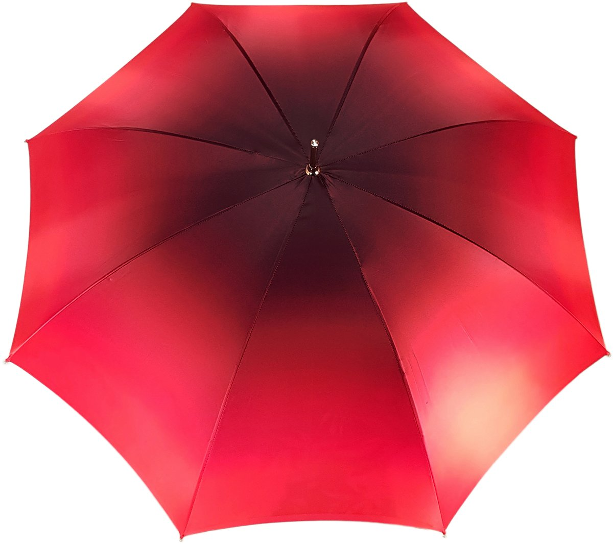 LOVELY FLOWERED DOUBLE CANOPY UMBRELLA