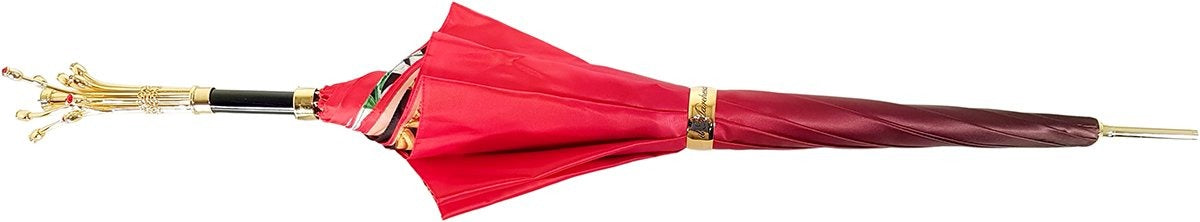 Marvelous Umbrella With Double Cloth Exclusive Design by il Marchesato