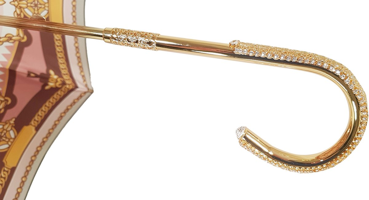HANDCRAFTED ENCRUSTED GOLD HANDLE BY MARCHESATO