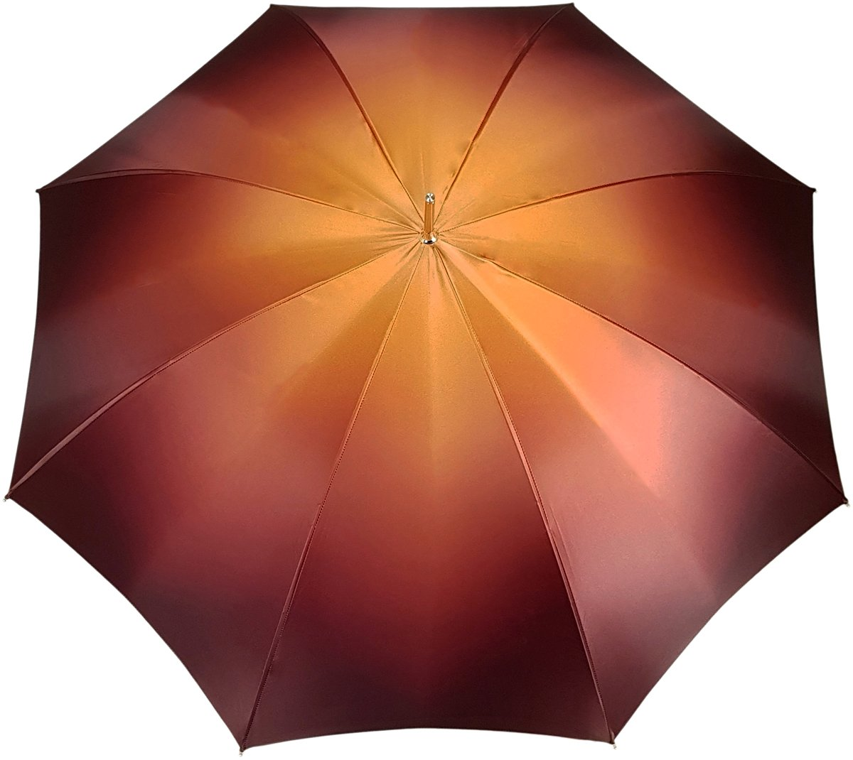Charming Double Cloth Woman's Umbrella Exclusive Design by il Marchesato