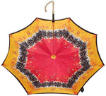 Load image into Gallery viewer, Beautiful Double Canopy Umbrella in a Parti-Coloured Design - il-marchesato