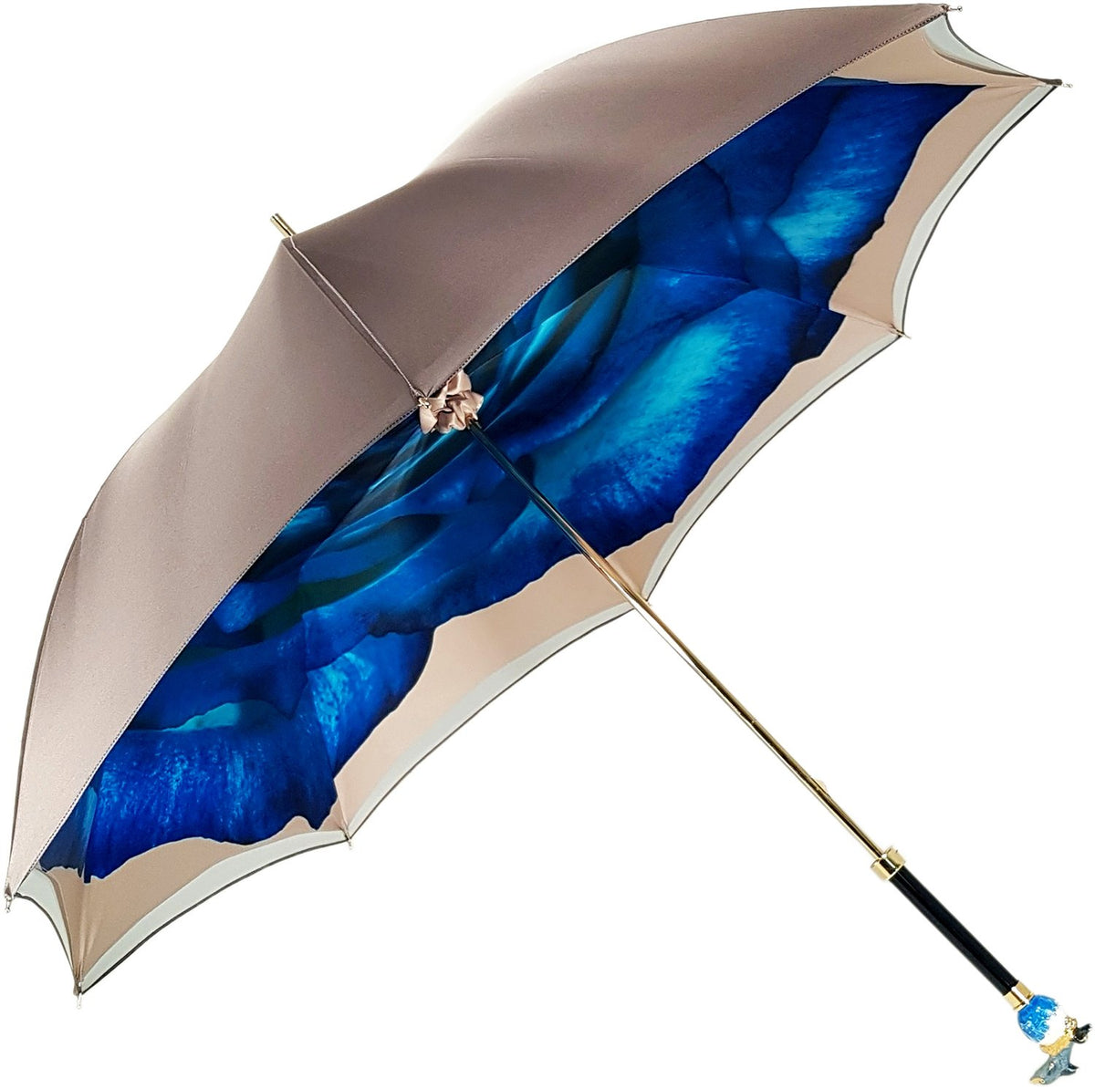 Awesome Dolphin Umbrella - Blue Rose Inside - il-marchesato