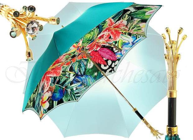 Marvelous Umbrella With Double Cloth Exclusive Design - il-marchesato