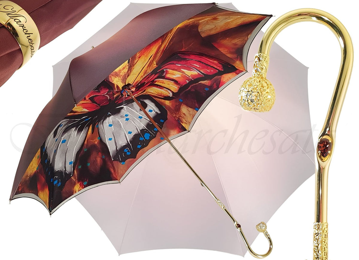 Marvelous Colorful Butterfly Umbrella - il-marchesato
