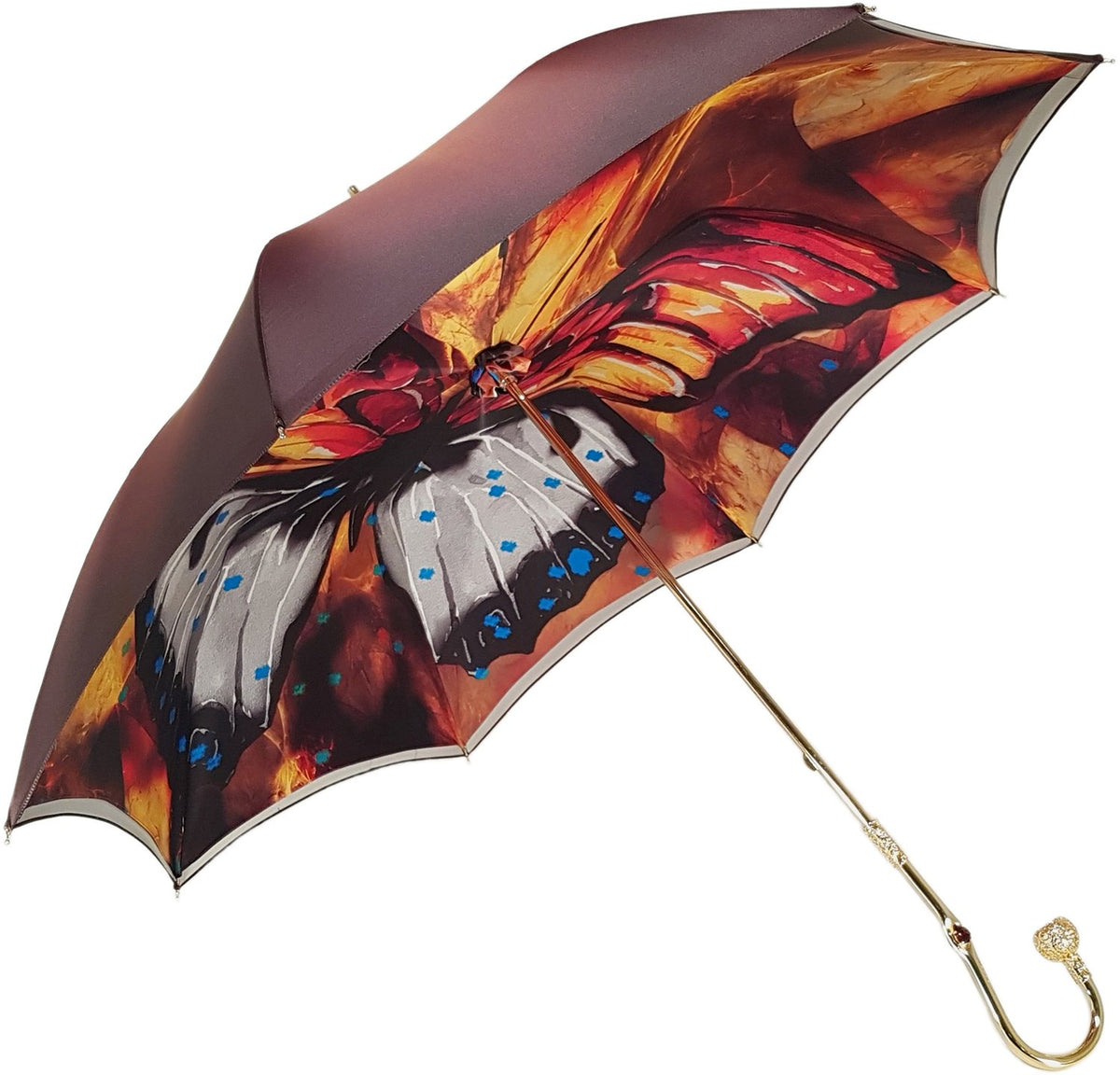 Marvelous Colorful Butterfly Umbrella