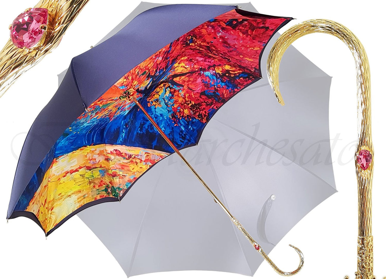 Il Marchesato Luxury Double Cloth Umbrellas - il-marchesato