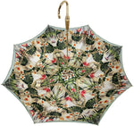 Load image into Gallery viewer, Fantastic flower and chain Umbrella With Double Fabric, Exclusive  Design By il Marchesato - il-marchesato