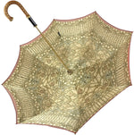 Load image into Gallery viewer, Luxurious Baroque Print Umbrella - IL MARCHESATO LUXURY UMBRELLAS, CANES AND SHOEHORNS