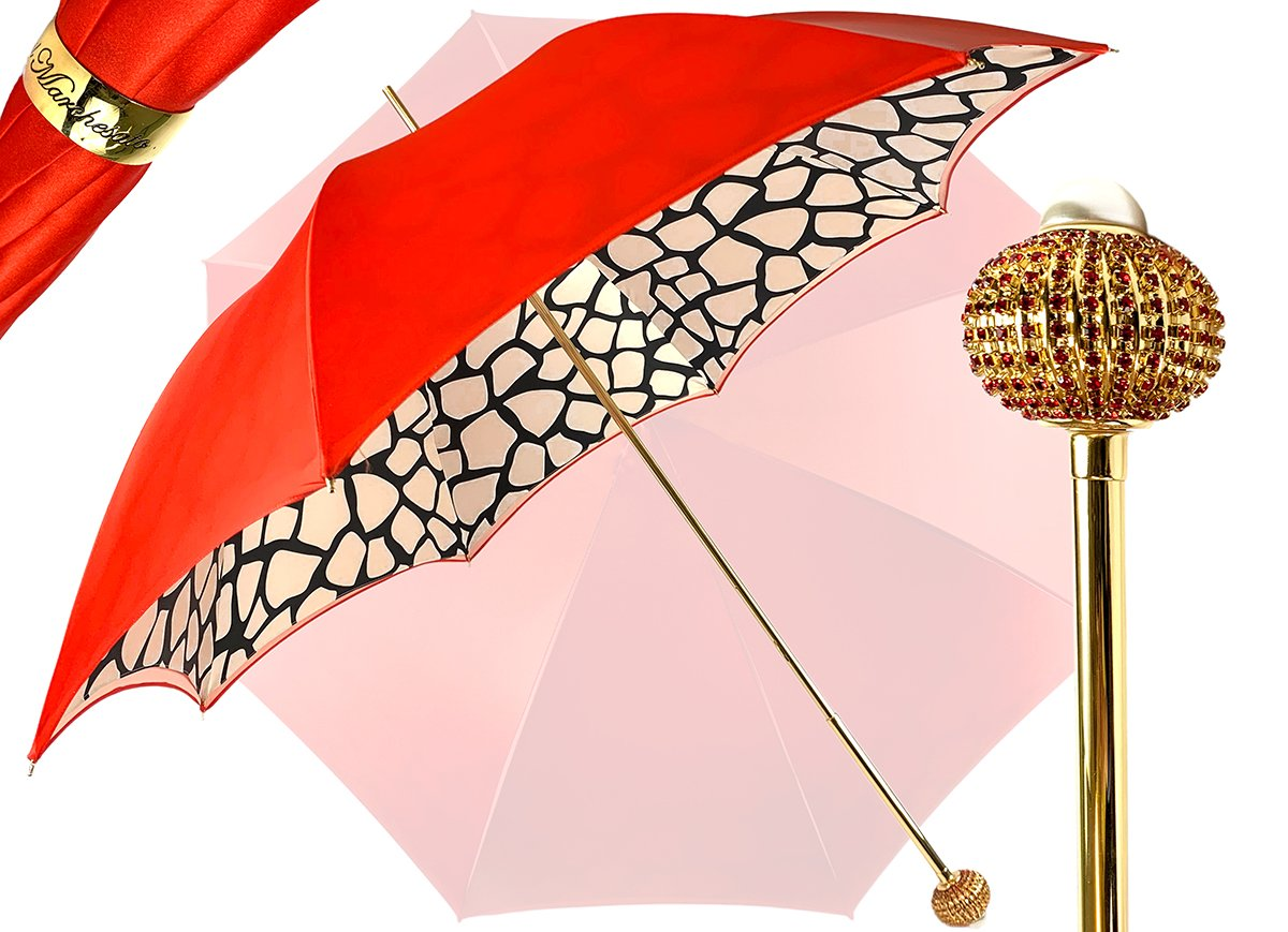 LUXURY GIRAFFE PATTERN UMBRELLA
