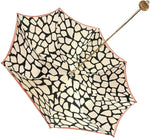 Load image into Gallery viewer, Luxurious Giraffe Pattern Umbrella - IL MARCHESATO LUXURY UMBRELLAS, CANES AND SHOEHORNS
