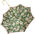 Load image into Gallery viewer, Nice And Elegant Flowered Umbrella - IL MARCHESATO LUXURY UMBRELLAS, CANES AND SHOEHORNS