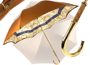 DOUBLE LAYER UMBRELLA CHAINS PATTERN