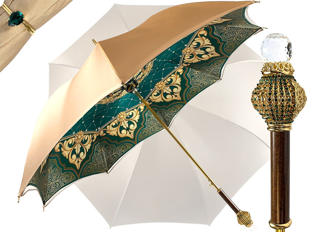 LUXURIOUS DOUBLE CANOPY UMBRELLA BY MARCHESATO