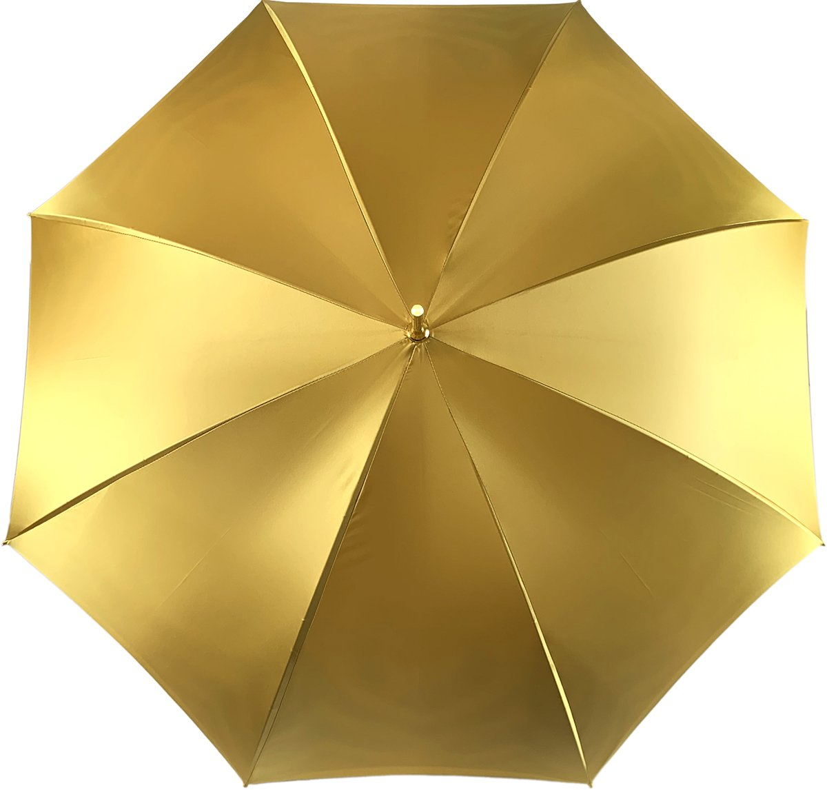 Umbrella In Fantastic Double Yellow Gold Cloth