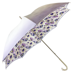 Load image into Gallery viewer, Sparkling Lilac Umbrella with Anemones
