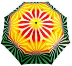 Load image into Gallery viewer, il Marchesato Exclusive Geometric Design, Women's Folding Umbrella - il-marchesato