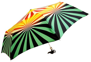 il Marchesato Exclusive Geometric Design, Women's Folding Umbrella - il-marchesato