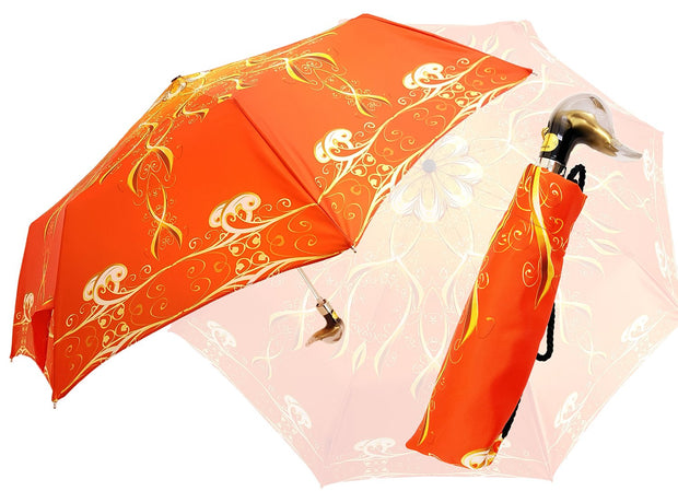 MARCHESATO ELEGANT ORANGE UMBRELLA