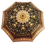 Load image into Gallery viewer, il Marchesato Beautiful Italian Flowered Women's Folding Umbrella - il-marchesato