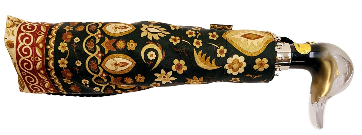 il Marchesato Beautiful Italian Flowered Women's Folding Umbrella - il-marchesato