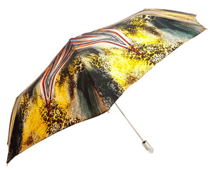 Awesome Women's Folding Umbrella, Amazing New Animalier Abstract Design - il-marchesato