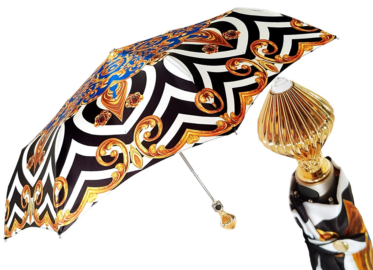 Luxurious Woman's Folding Umbrella - il-marchesato
