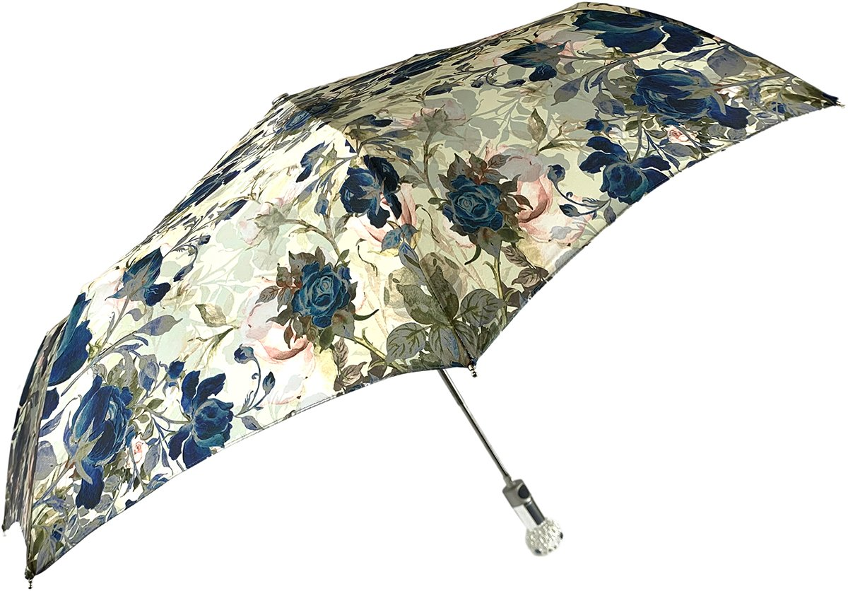il Marchesato Folding Umbrella For Ladies - IL MARCHESATO LUXURY UMBRELLAS, CANES AND SHOEHORNS