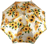 Load image into Gallery viewer, Ladylike Umbrella Exclusive Sunflowers Design - IL MARCHESATO LUXURY UMBRELLAS, CANES AND SHOEHORNS