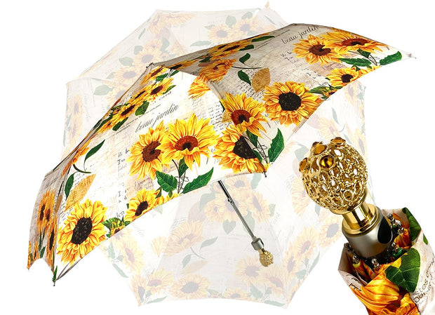 Ladylike Umbrella Exclusive Sunflowers Design
