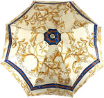 Load image into Gallery viewer, il Marchesato Chains Print Women's Folding Umbrella - IL MARCHESATO LUXURY UMBRELLAS, CANES AND SHOEHORNS
