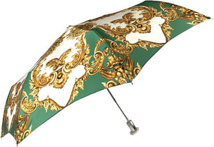 Ladies Folding Umbrella - New Exclusive Design - IL MARCHESATO LUXURY UMBRELLAS, CANES AND SHOEHORNS